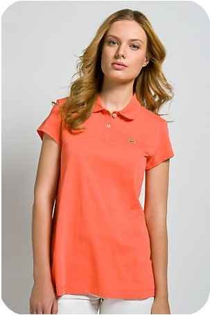 Lacoste Lacoste G7viyybmf6 Corail Femme Polo Corail reQoCxdWB
