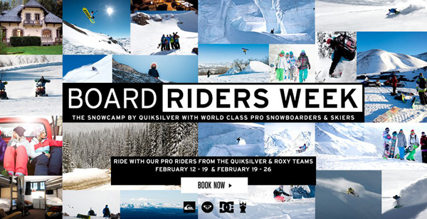 Bordriders Snow Week