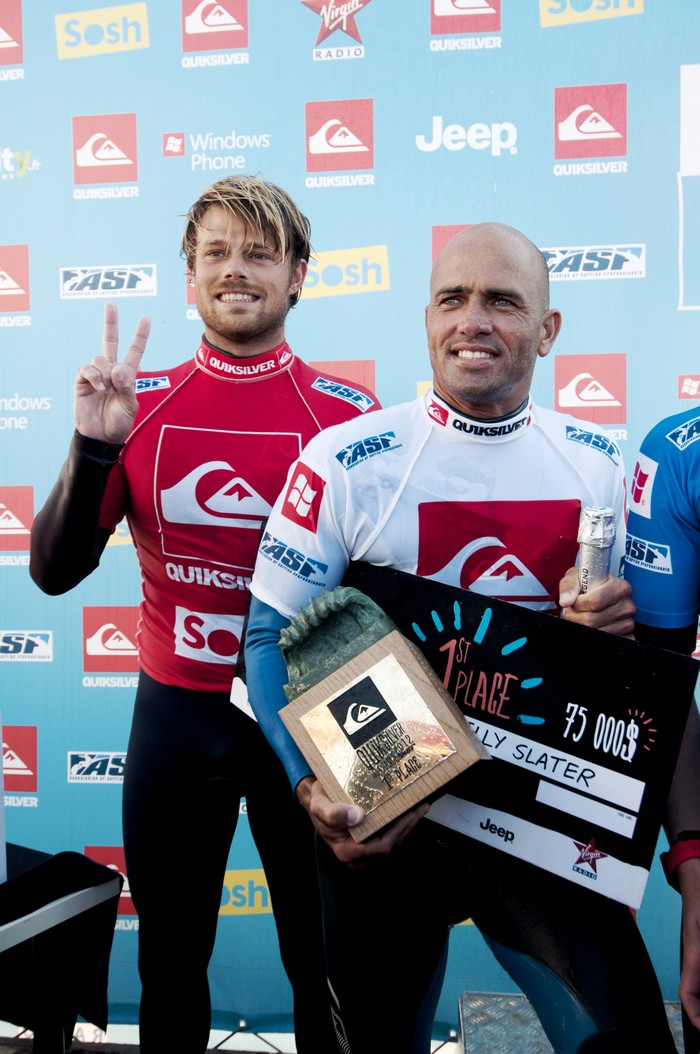 Kelly Slater champion du #quikpro France