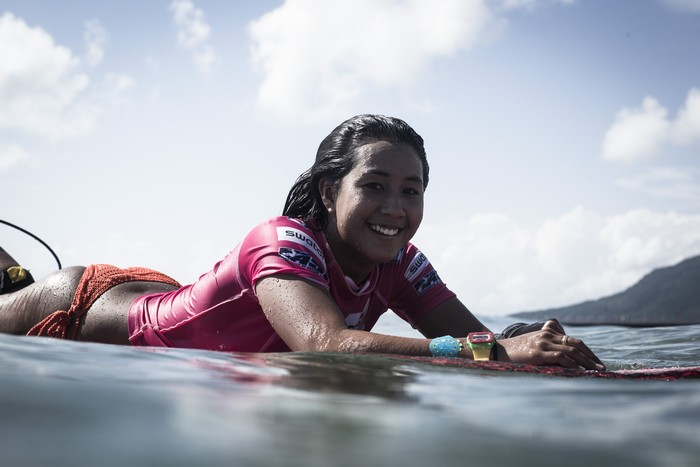 Kelia Moniz swatch girls pro