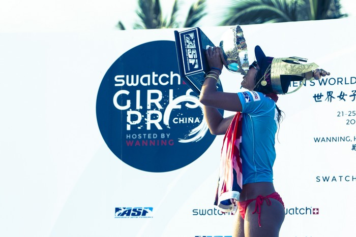 Swatch Girl Pro China 2012 : Kelia Moniz world champion