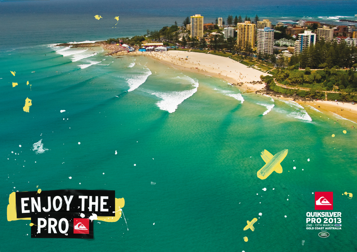 Quiksilver et Roxy Pro Gold Coast 2013