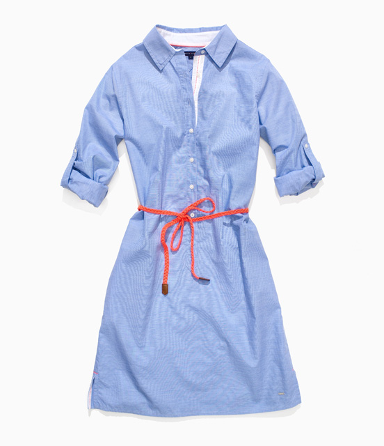 robe-chemise-jean-tommy