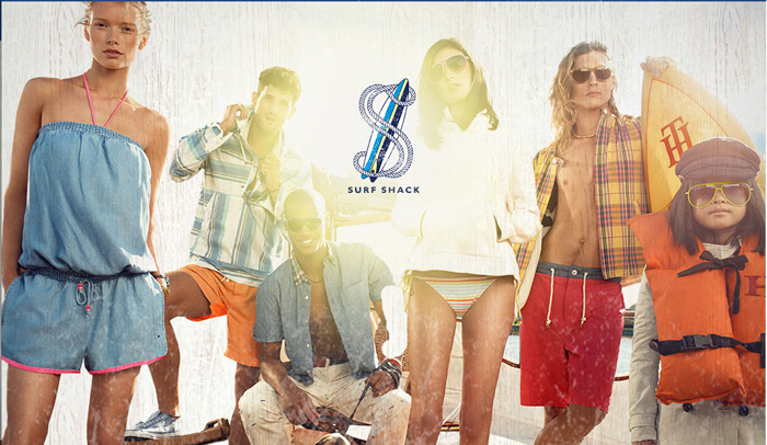 Surf Shack, la collection preppy surf de Tommy Hilfiger