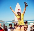 Le sourire et la victoire de Tyler Wright au Colgate Plax Rio Pro
