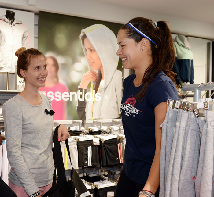 shopping avec ana ivanovic