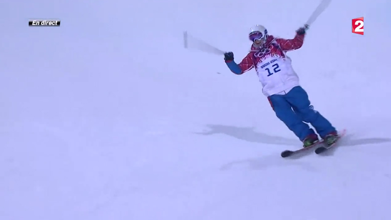 Marie Martinod médaille d'argent ski halfpipe