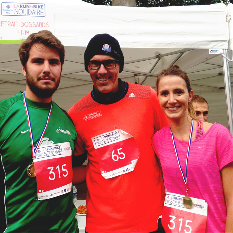 laurent blanc run & bike