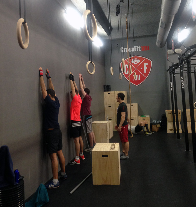 J'ai testé le Crossfit XIII au CMG Sports Club