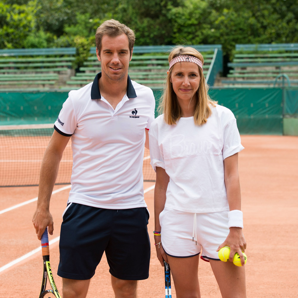 Tennis Session avec Richard Gasquet & Alizé Lim