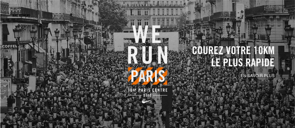 10km Paris Centre Nike