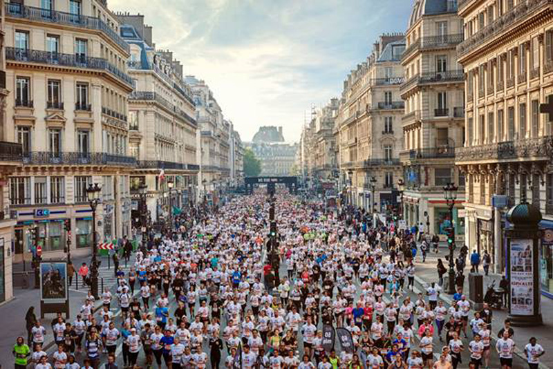 10km Paris Centre, le CR de course à l'envers #werunparis