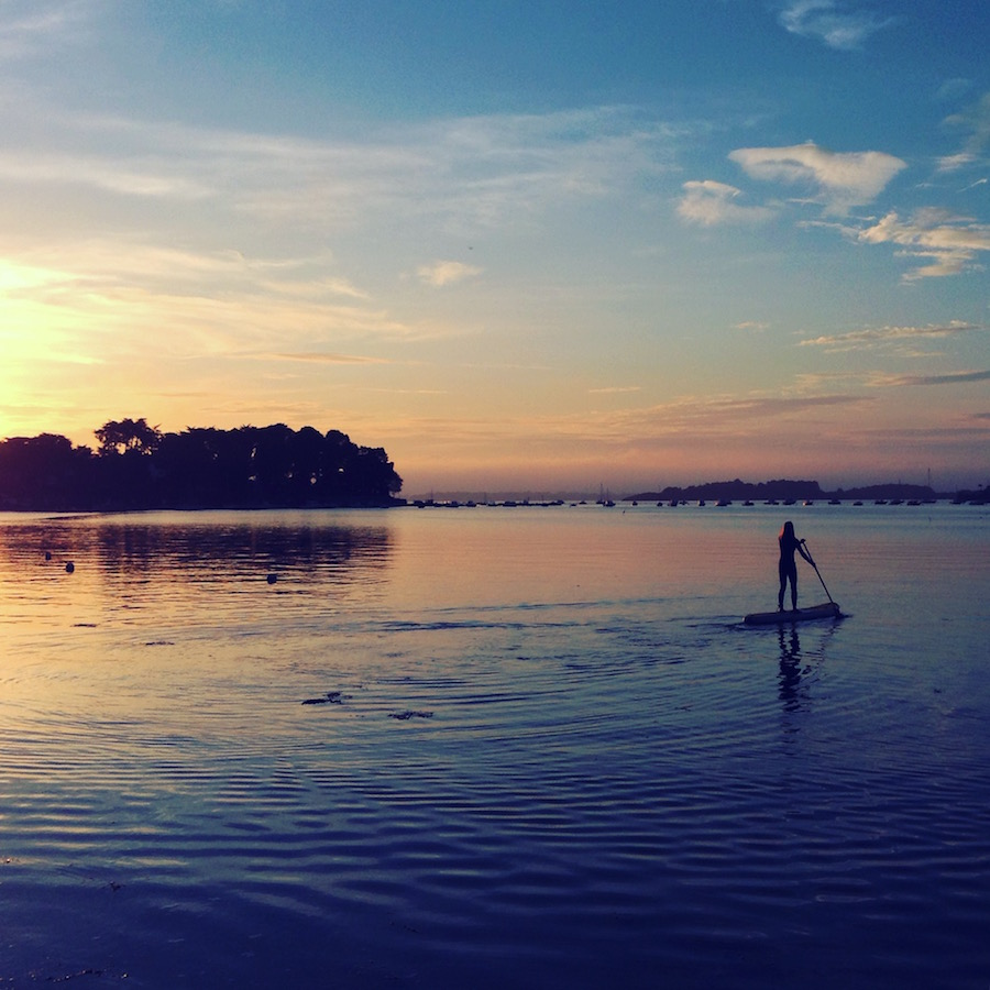 sunset-paddle