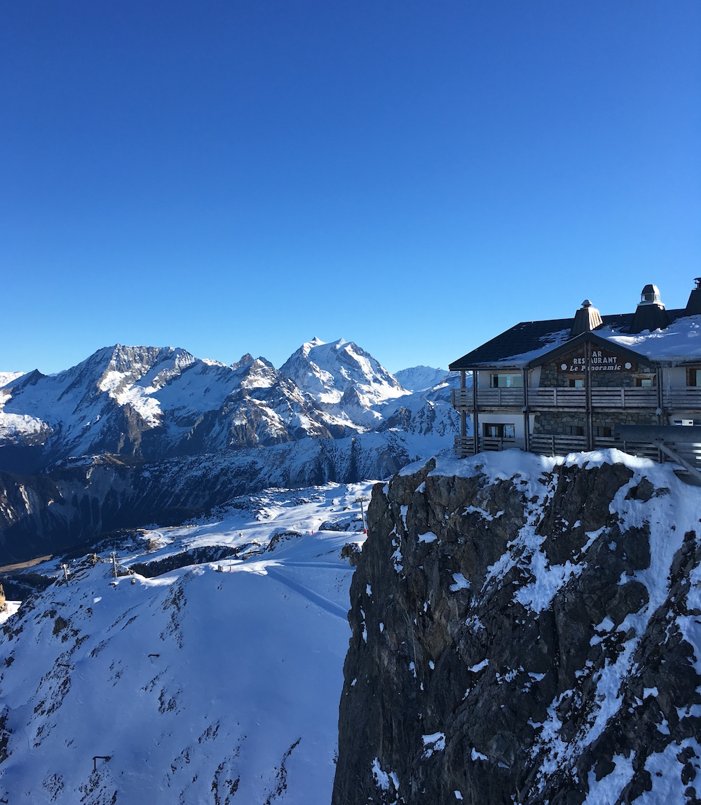 vue panoramique courchevel